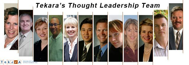 Business blogging: Tekara's Thought Leadership Team