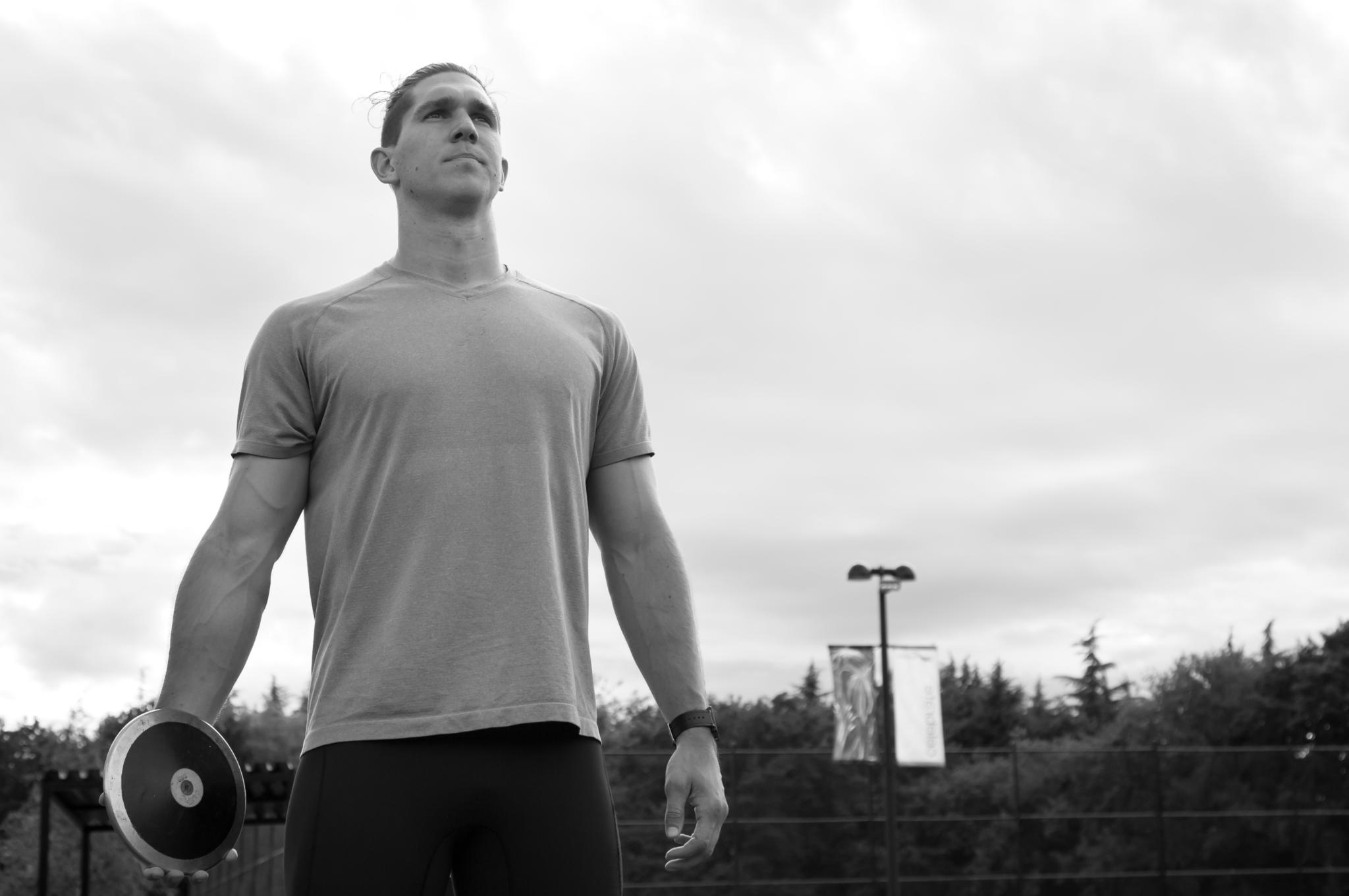Tyrell Mara, Olympics, Discus, Leadership, image: http://www.moonriderproductions.com/